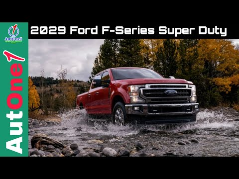 2020 Ford F-Series Super Duty / Powerful upgrades inside and out
