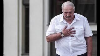 Только что! У Лукашенко опустились руки, дальше будет захват: он уже не президент. Все ужаснулись