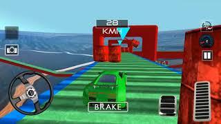 Superhero Car Super Stunts Driving Simulator | Android/ios Gameplay 2018