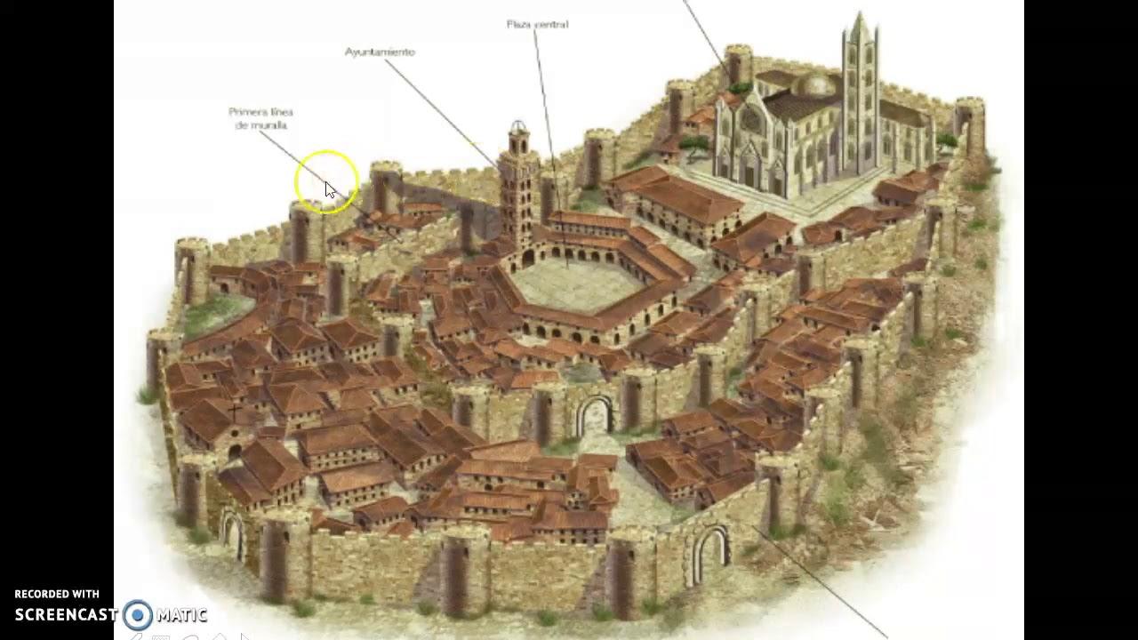 Unidad 3 El Desarrollo De Las Ciudades En La Edad Media 2 Youtube