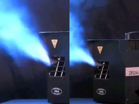 Froggys Fog Beamsplitter Water Based Haze Fluid Side-By-Side Test using JEM ZR 24/7 Hazer