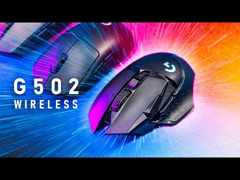 Logitech G502 Lightspeed Wireless - A Gaming Mouse Far From Home?