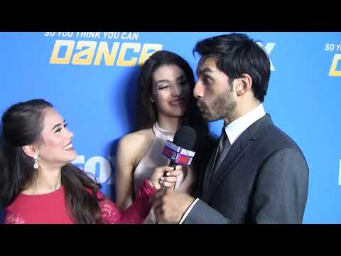 SYTYCD Season 14 Finale - Taylor & Robert INTERVIEW