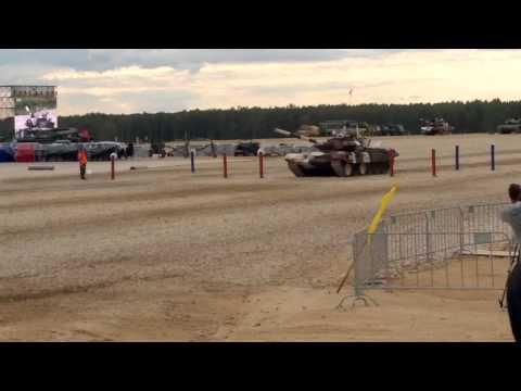 танковый биатлон 2015 финал. передача эстафеты