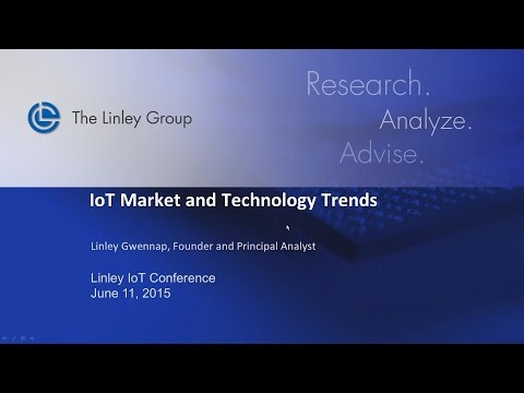 2015 Linley IoT Conference Keynote Presentation
