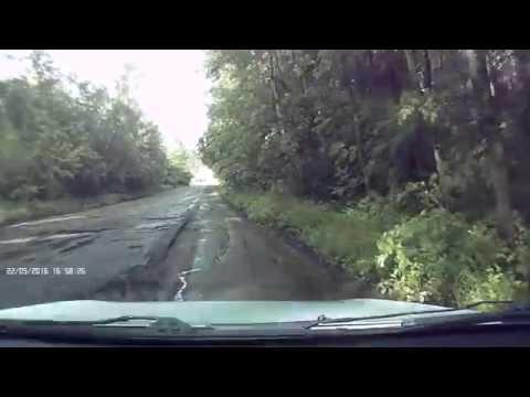 Дорога от с.Чернышово Белинского района Пензенской области