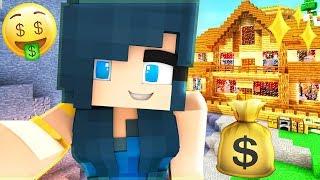 THE RICHEST MANSION IN TOWN! | Krewcraft Minecraft Survival | Episode 13