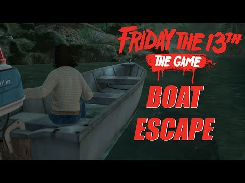Friday the 13th: The Game | Boat Escape
