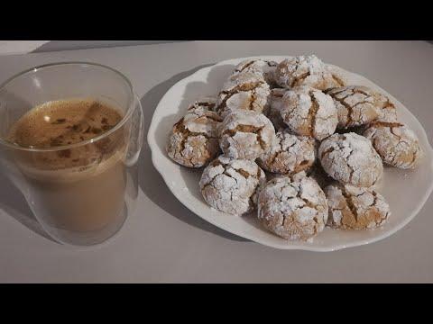 recette-rapide-de-gâteau-craquelé-à-l'amande---très-facile- -accompagner-d'un-cappuccino-maison
