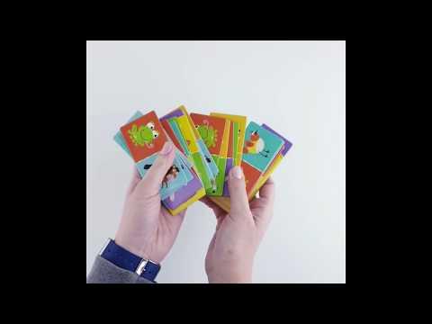 Dodo R300137 Настольная игра Домино Животные