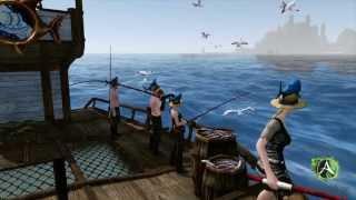 ArcheAge. Видео. Рыболовное судно