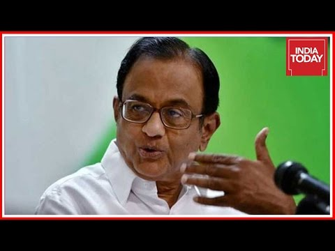 P. Chidambaram Hits Out At Modi Govt ; Calls Demonetization A Failure