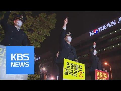 Korean Air Strike / KBS뉴스(News)