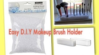 Easy D.I.Y. Makeup Brush Holder Thumbnail