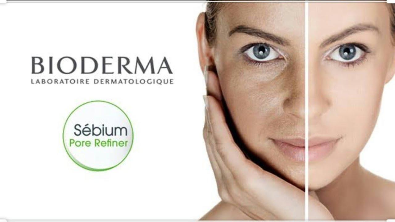 Bioderma Sebium Pore Refiner Review أفضل علاج للمسام الواسعه Youtube