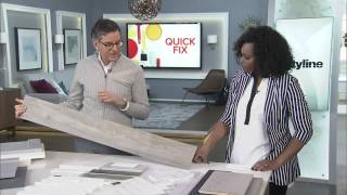 3 Easy Kitchen Transformations: Vinyl flooring, backsplashes + cabinetry