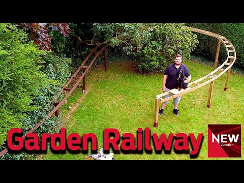New Junction:  Building an 'O' gauge Garden Railway  Part Three