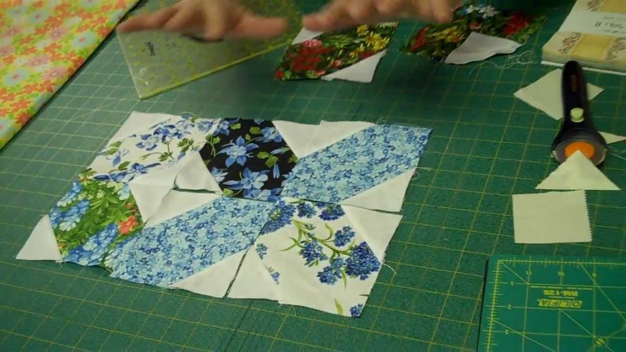 X S And O S Quilt Block Easy Quilting Tutorials Youtube