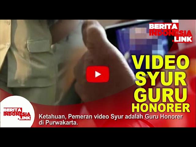 Video Syur Guru Purwakarta diketahui dan diperiksa,