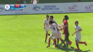 Portugal vs South-Korea - Ranking match 19/20 - Highlight - Danone Nations Cup 2016