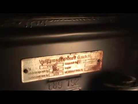 Vehicle Serial Number >> numero chasis y motor vw beetle - YouTube