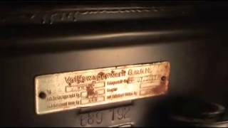 numero chasis y motor vw beetle