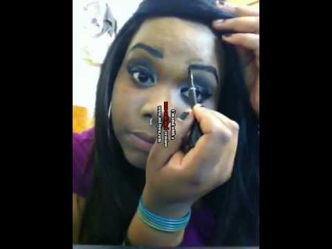Alternative Emo Goth Makeup African American