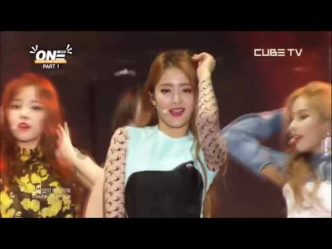Clippings from Cube TV (G)I-DLE with a family concert 'One'
