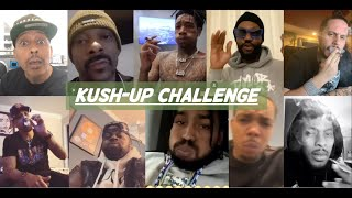Kush-Up Challenge | Rappers in Quarantine Participate in Weed Smoking Challenge During Coronavirus