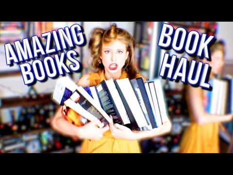 THE AMAZING BOOKS BOOKHAUL