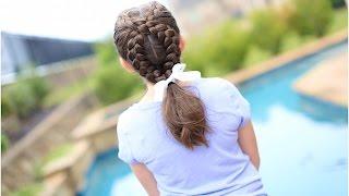 dutch loop braid   cute girls hairstyles
