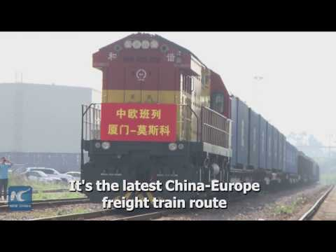 "China opens new ""Silk Road"" freight train service to Moscow"