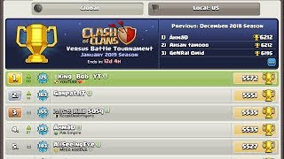 NUMBER 1 GLOBAL IN CLASH OF CLANS BUILDER BASE 2019!!!