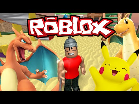 Roblox – Capturando Pokemons ( ROBLOX Pokemon GO! )
