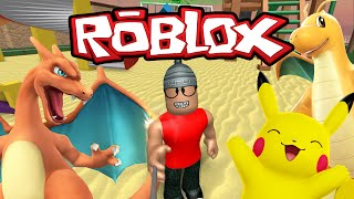 Roblox - Capturando Pokemons ( ROBLOX Pokemon GO! )