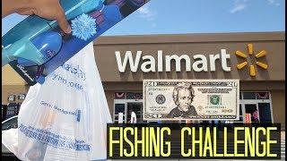 $20 Walmart Fishing Challenge!! (Craziness)