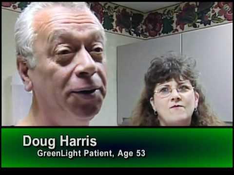 Лазер-зеленый свет здоровью кожи Институт здоровья