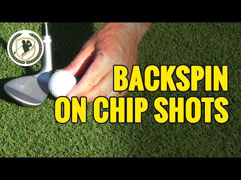 4 CHIP SHOT TIPS – HOW TO GET BACKSPIN ON CHIP SHOTS