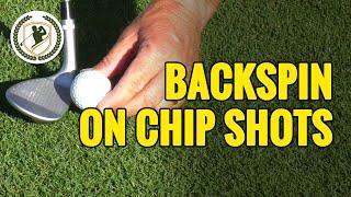 4, EINEN CHIP-SCHLAG - TIPPS- WIE MAN BACKSPIN AUF CHIP SHOTS