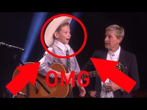 YODELING Kid MASON RAMSEY At Grand Ole Opry!