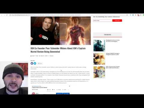 IGN Blames Trolls For Their AWFUL Review of Captain Marvel Mp3