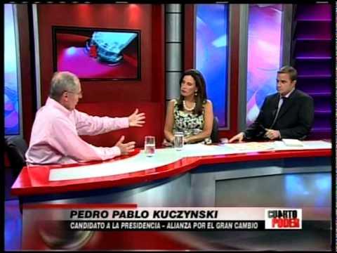 Entrevista a ppk cuarto poder youtube for Cuarto poder america tv