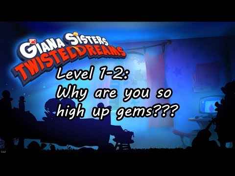 Tenpin Plays Giana Sisters Twisted Dreams Level 1-2 |