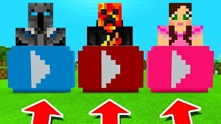 Minecraft PE : DO NOT CHOOSE THE WRONG YOUTUBER! (PopularMMOs, PrestonPlayz & GamingWithJen)