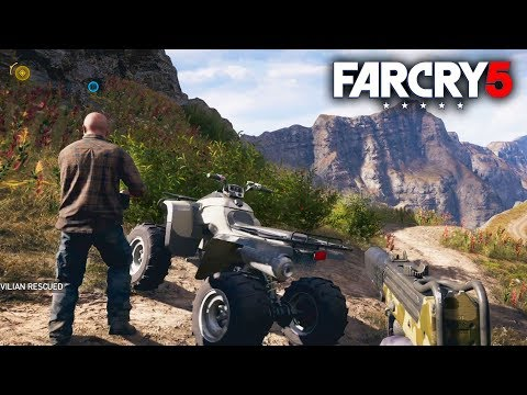 Far Cry 5 - New Multiplayer Co-op Gameplay! Free Roaming the Open World! Funny Moments!