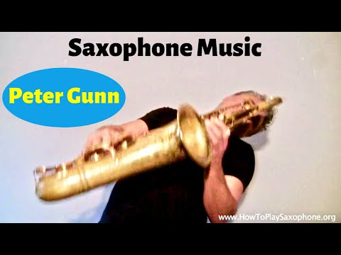 Peter Gunn - Saxophone Music and Backing...