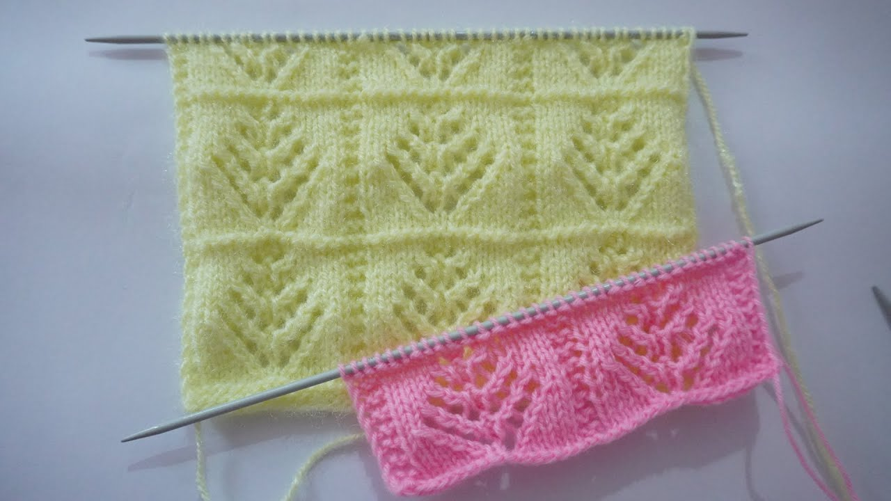Beautiful Knitting Stitch Pattern For Blankes