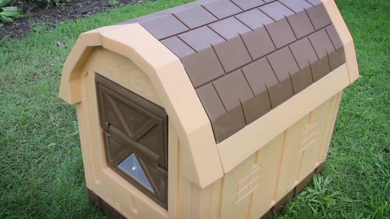 Asl Solutions Dog Palace Insulated Doghouse Product