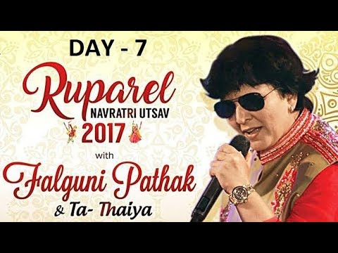 Ruparel Navratri Utsav with Falguni Pathak 2017  Day 7