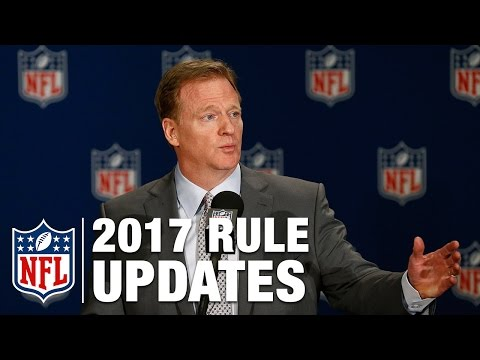 2017 Rules Update Press Conference With Roger Goodell, Dean Blandino, And Rich McKay   NFL
